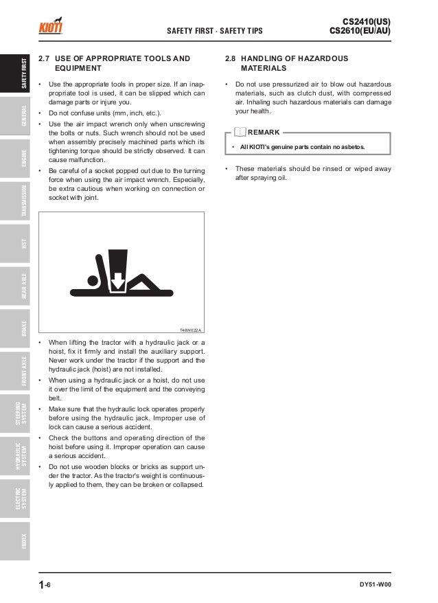 kioti cs2610 manual