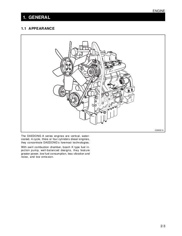 Kioti Daedong Dk50 Tractor Service Repair Manual