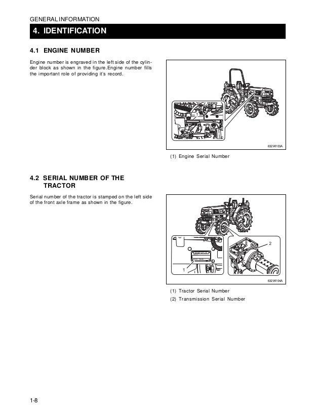 Kioti Daedong DK45 Tractor Service Repair Manual