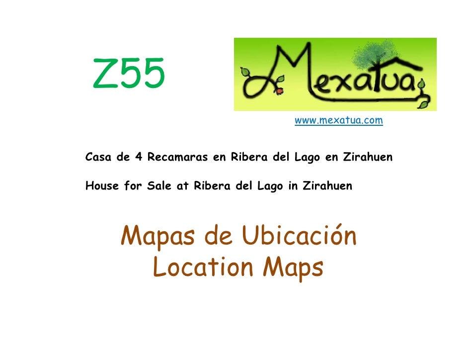 Z55                                    www.mexatua.com   Casa de 4 Recamaras en Ribera del Lago en Zirahuen  House for Sal...
