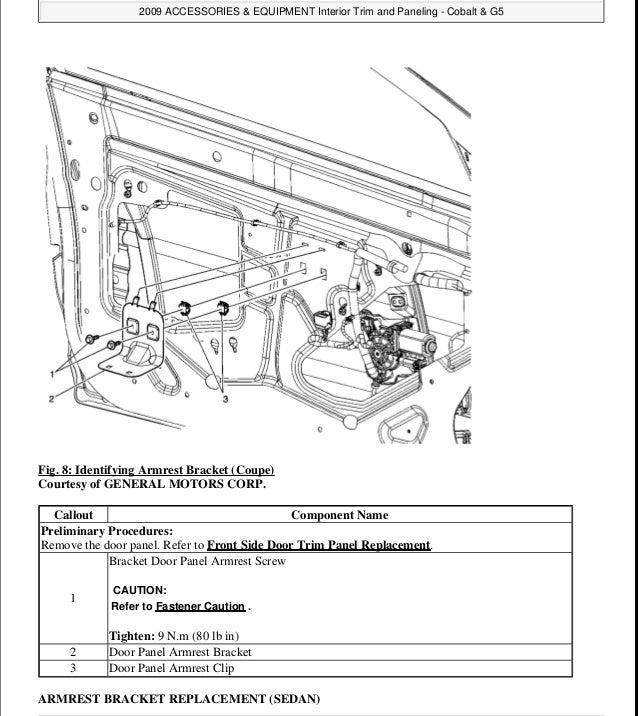 2010 Chevrolet Cobalt Service Repair Manual