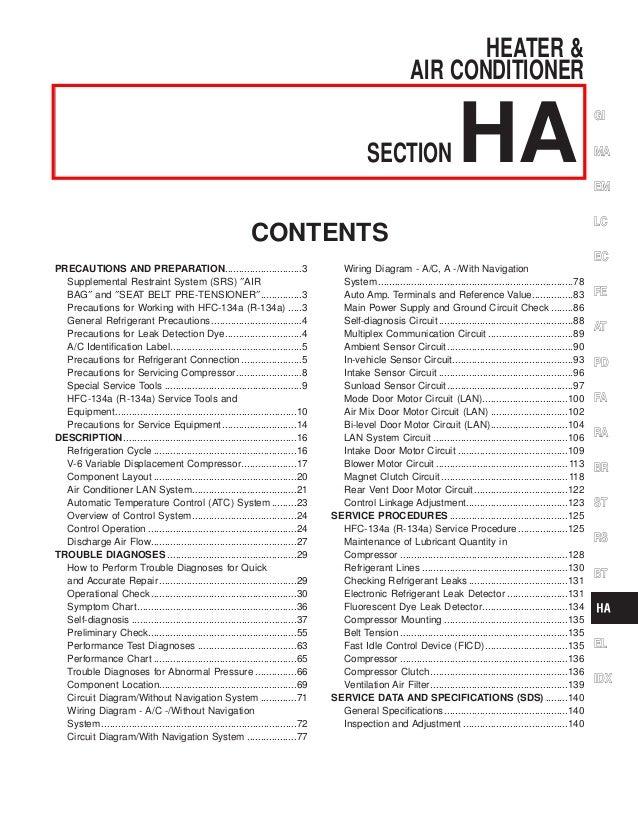 2001 infiniti q45 service repair manual rh slideshare net 1997 Infiniti I30 1997 Infiniti I30