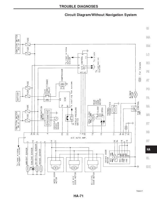 Service manual infiniti q wiring harness removal