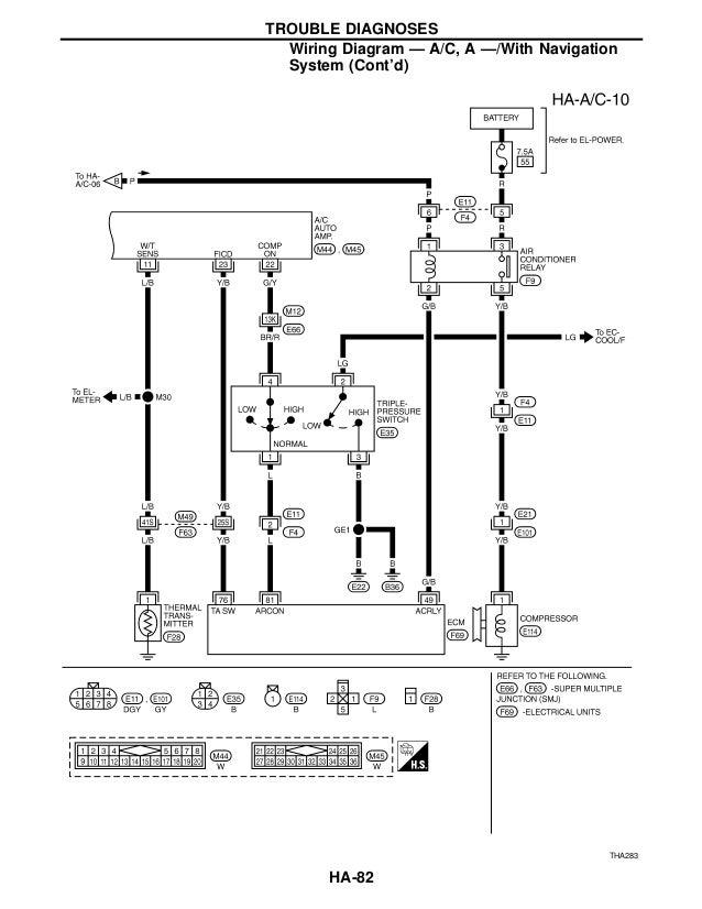 1995 Infiniti Q45 Stereo Wiring Diagram