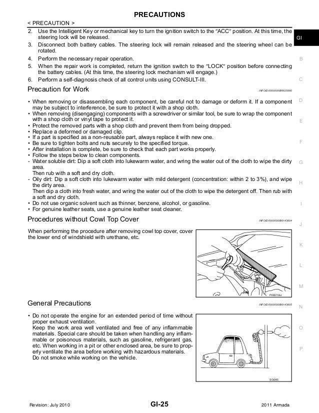 nissan armada full service repair manual 2010