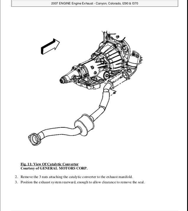 2010 GMC CANYON Service Repair Manual