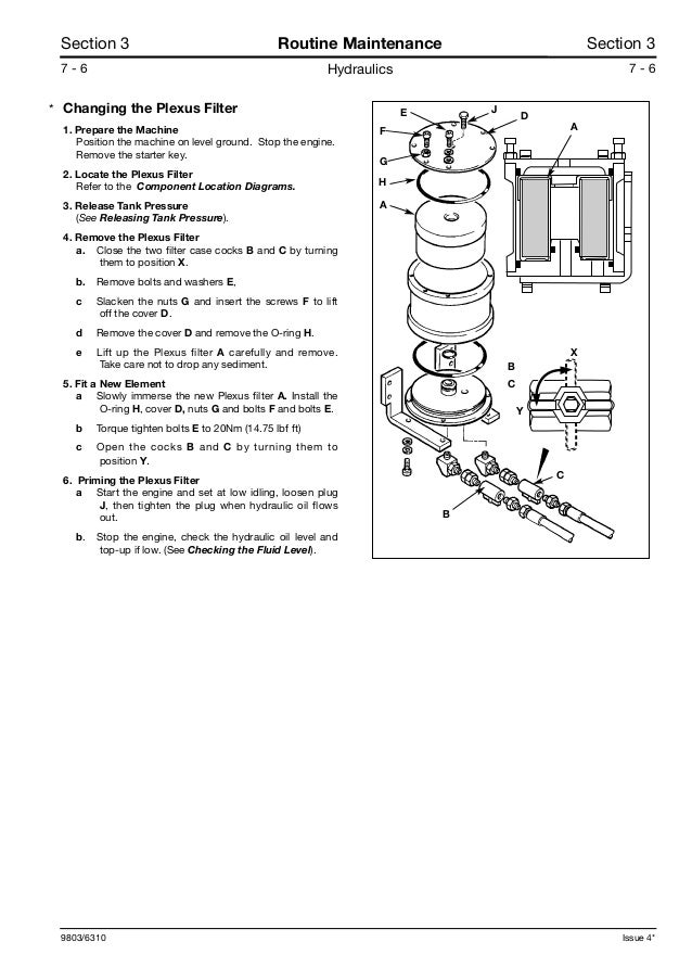 JCB JS175W WHEELED EXCAVATOR Service Repair Manual SN