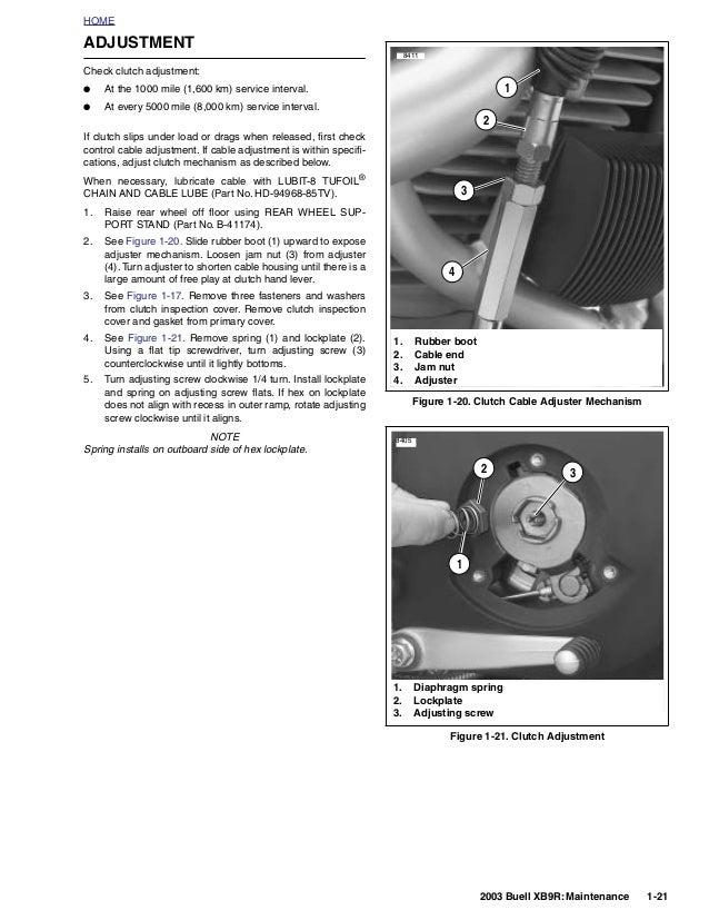 2003 BUELL FIREBOLT XB9R Service Repair Manual