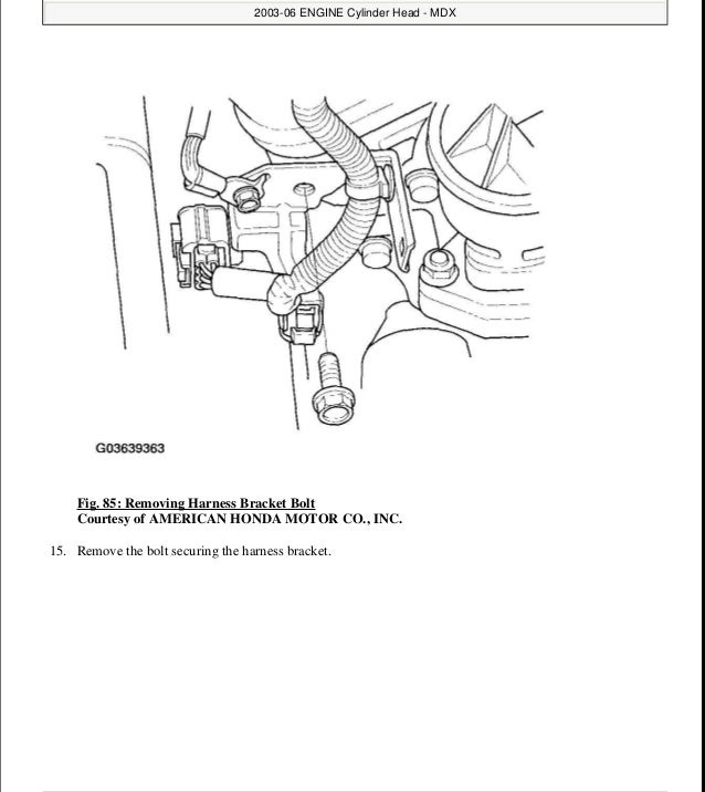 2002 ACURA MDX Service Repair Manual