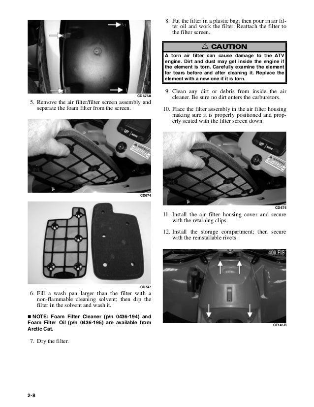 arctic cat 650 v2 manual