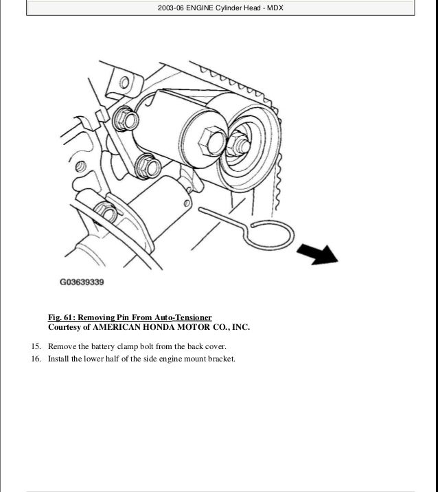 2006 ACURA MDX Service Repair Manual