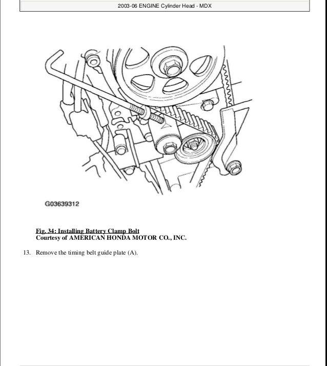 2005 ACURA MDX Service Repair Manual