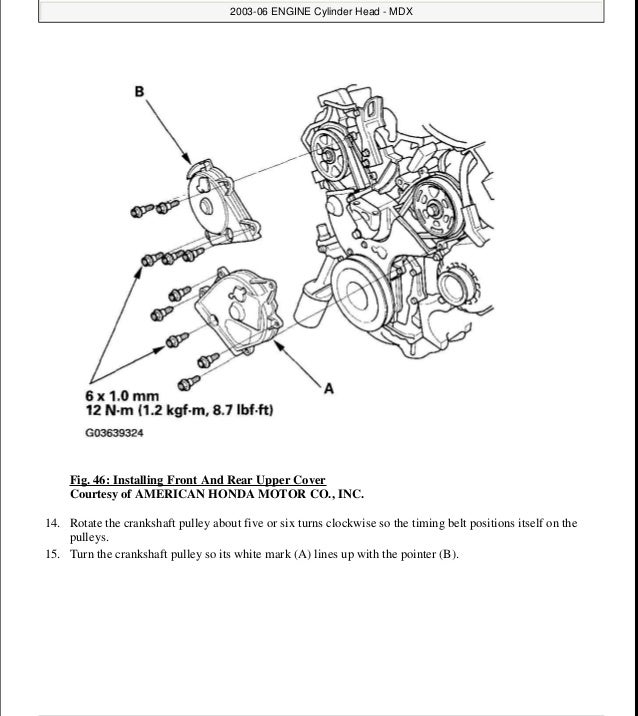 2005 ACURA MDX Service Repair Manual