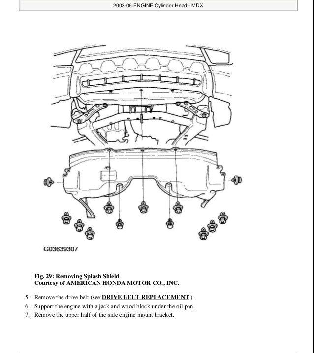 2006 ACURA MDX Service Repair Manual