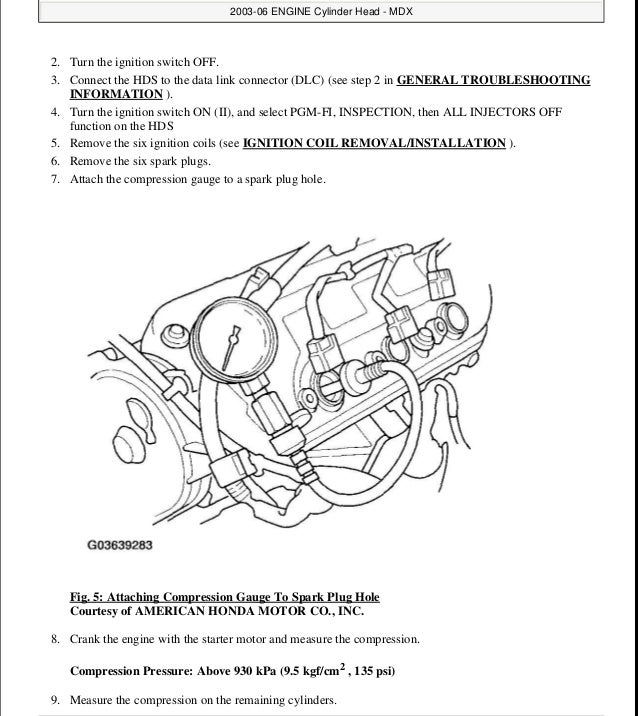 2006 acura mdx service repair manual rh slideshare net 2010 Acura MDX 2006 Acura MDX Interior