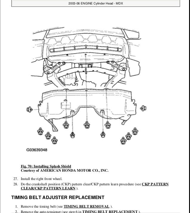 06 acura mdx belt diagram 06 acura mdx timing belt replacement rh maerkang org Acura MDX Parts Diagram Acura MDX Parts Diagram