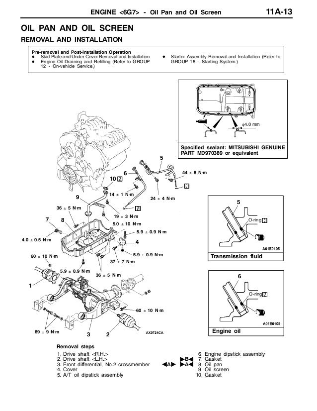 2004 MITSUBISHI MONTERO PAJERO Service Repair Manual