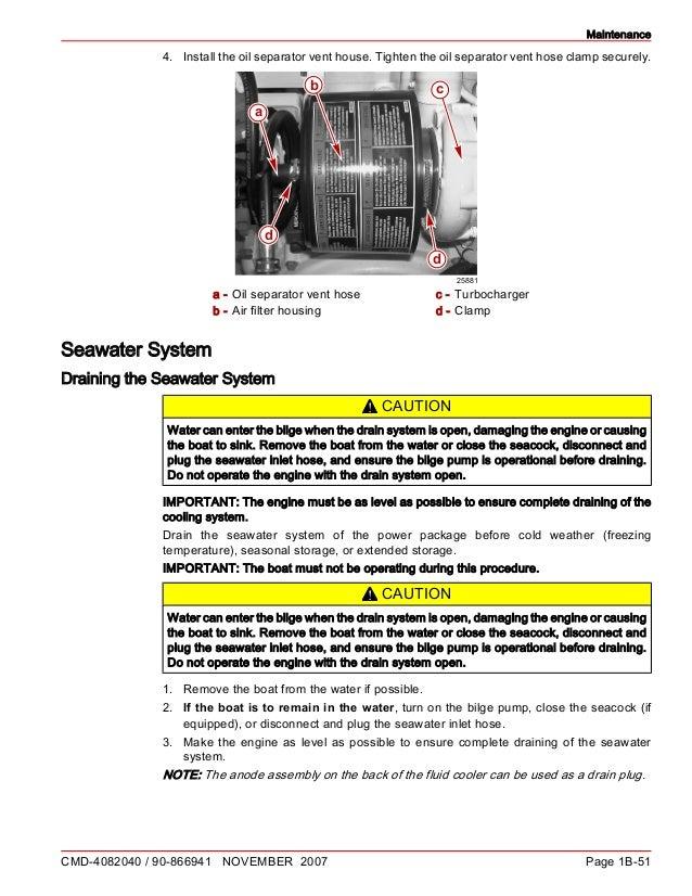 Cummins MerCruiser QSD 2 8 200 HP DIESEL ENGINE Service