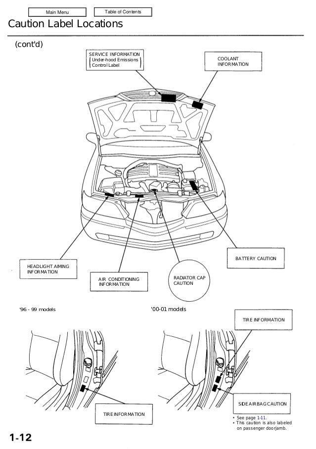 1997 ACURA 3.5RL Service Repair Manual