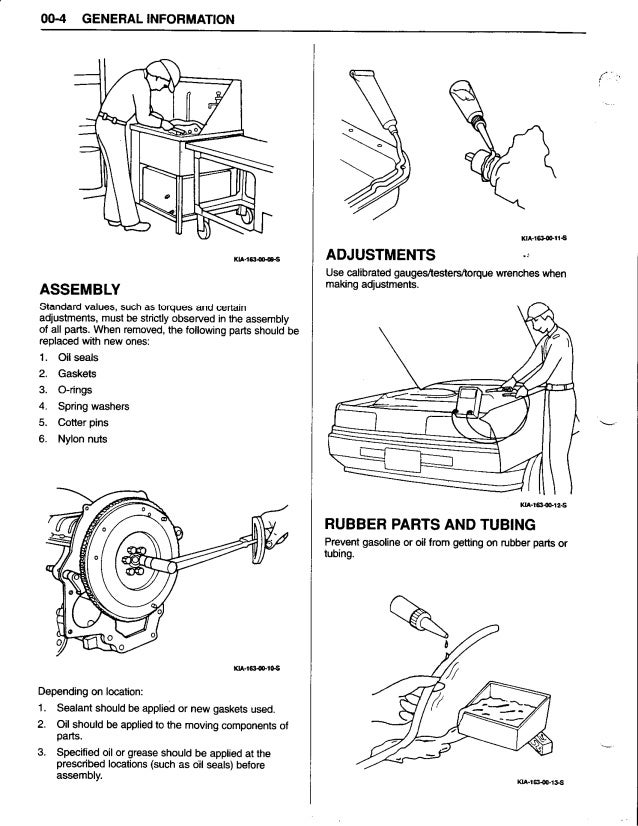 1997 Kia Sportage Repair Manual