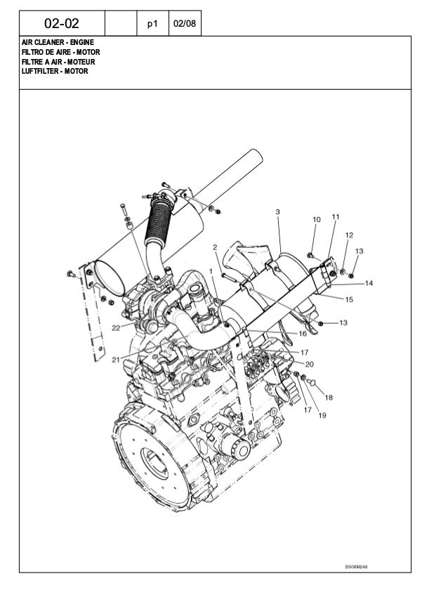 New Holland C175 Skid Steer Compact Track Loader Parts Catalogue Ma