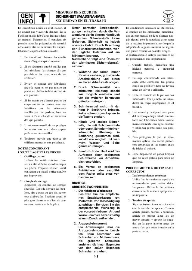 YAMAHA OUTBOARD 30DMHO, 30MH Service Repair Manual S: 109639