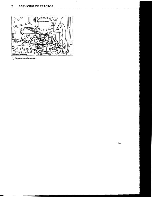 Kubota L5240 Tractor Operator manual