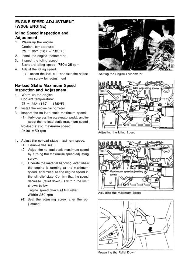Toyota 5FD70 Forklift Service Repair Manual