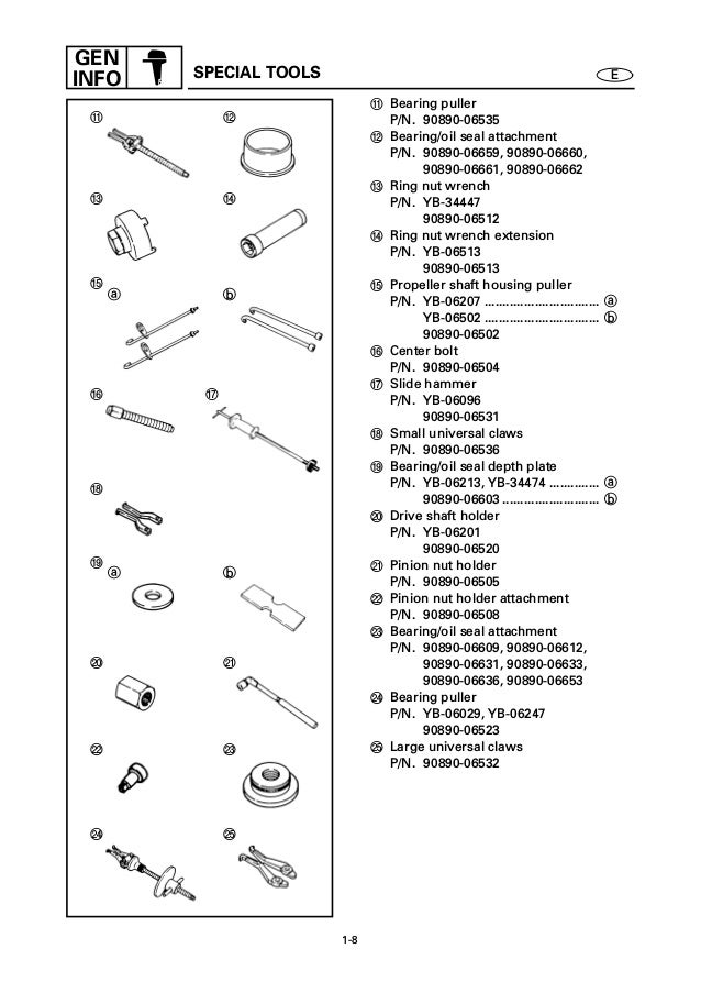 Yamaha 175aet Outboard Service Repair Manual X  701017