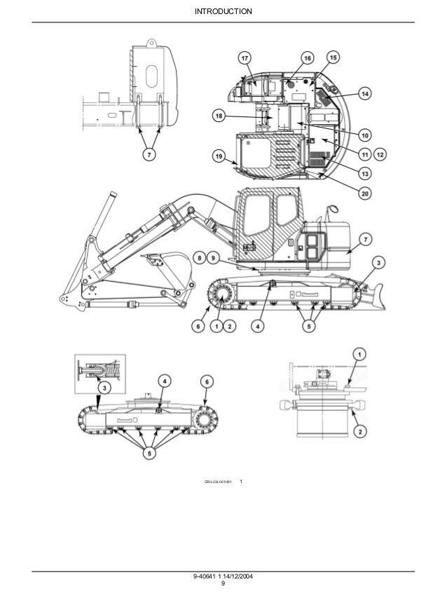 CASE CX135SR CRAWLER EXCAVATOR Service Repair Manual