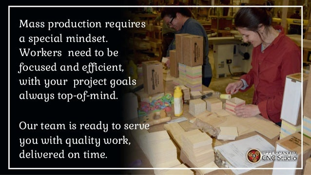 Custom Manufacturing & Mass Production Slide 3