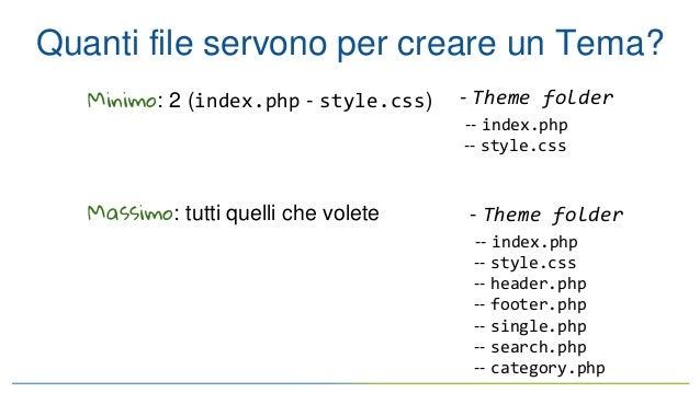 Wordpress Template hierarchy Slide 3