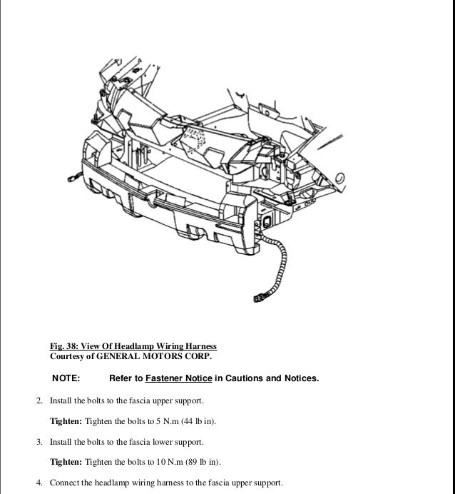 Pontiac Fuel Pump Wiring Harness • Wiring Diagram For Free