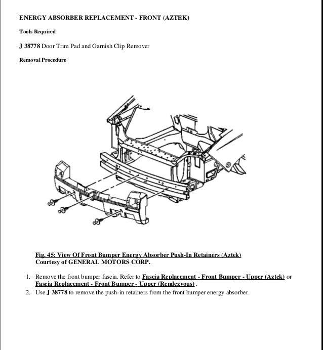 2003 pontiac aztek service repair manual rh slideshare net 2003 Pontiac Aztek Specs 2003 Aztek Problems