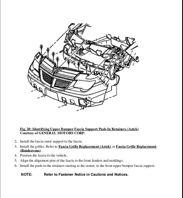 2002 pontiac aztek service repair manual  slideshare
