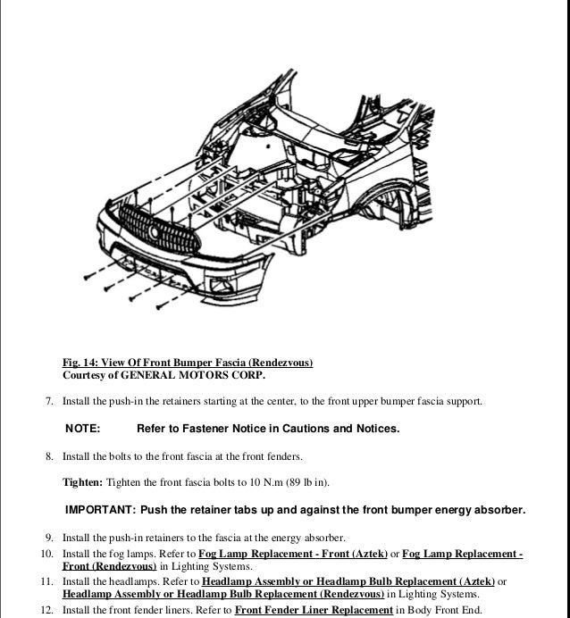 2001 pontiac aztek service repair manual rh slideshare net 2001 pontiac aztek owner's manual 2002 pontiac aztek owner's manual