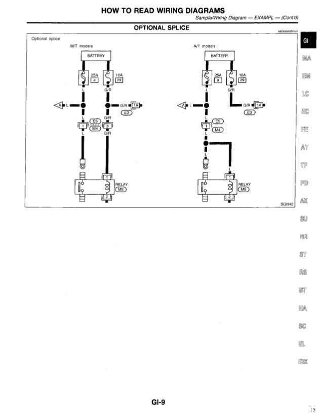 1997 infiniti qx4 wiring diagram and electrical system service and rh zofunu de
