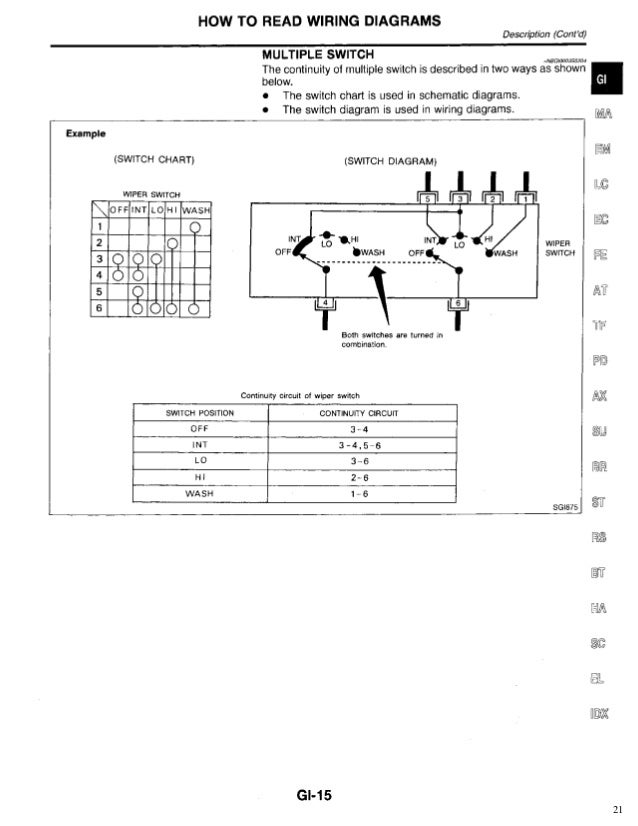 1998 infiniti qx4 service repair manual 1998 infiniti suv 1998 infiniti qx4 wiring diagram #2