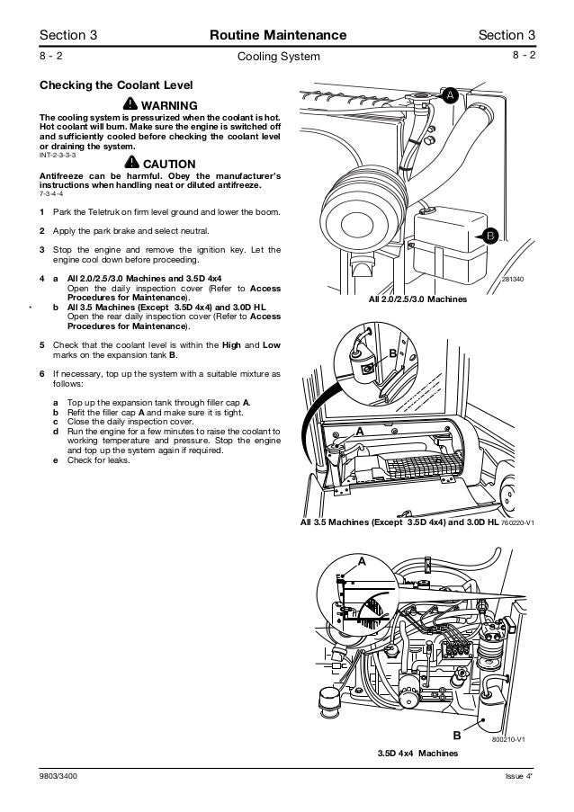 Wiring Diagram For Jcb Forklifts - Wiring Diagram K9 on