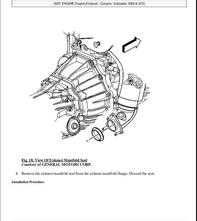 2004 Gmc Canyon Service Repair Manual