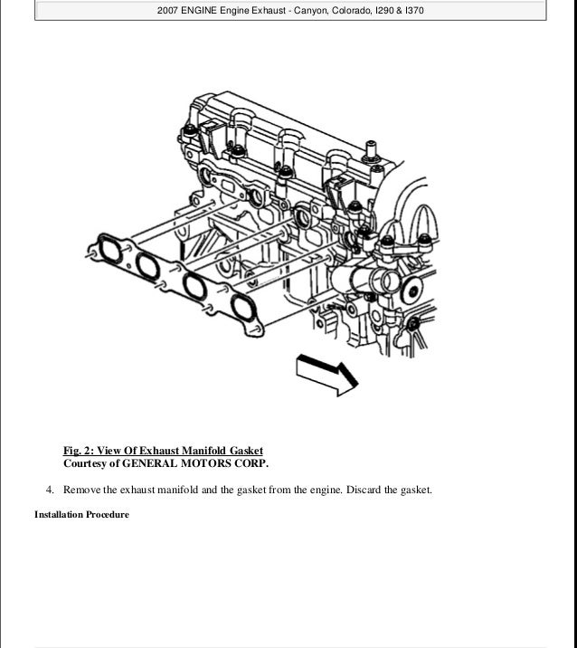 2004 GMC CANYON Service Repair Manual