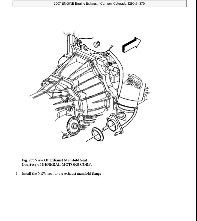 2008 Gmc Canyon Service Repair Manual
