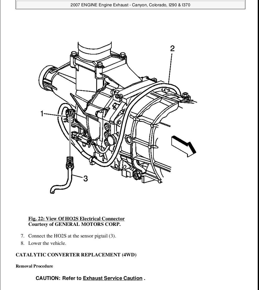 2009 GMC CANYON Service Repair Manual