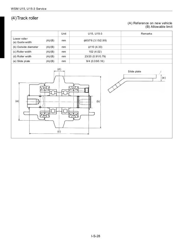 Kubota U15 3 Micro Excavator Service Repair Manual