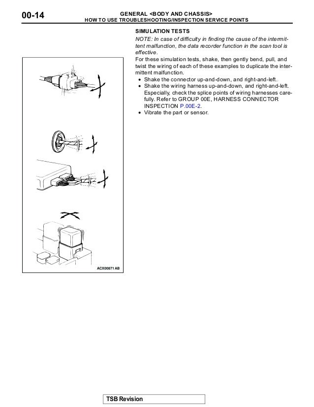 2003 Mitsubishi Montero Service Repair Manual