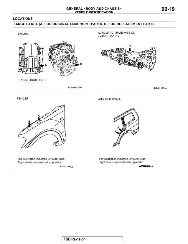 2003 mitsubishi montero service repair manualMitsubishi Automatic Transaxle Diagram In Addition Location Of Turn #10