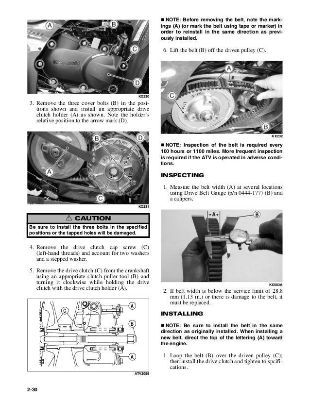 2006 Arctic Cat 400 4x4 ATV Service Repair Manual