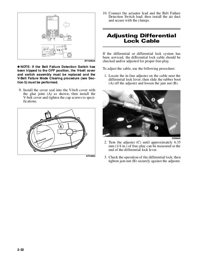 2006 arctic cat 400 4x4 atv service repair manual on 2000 arctic cat  300 wiring diagram