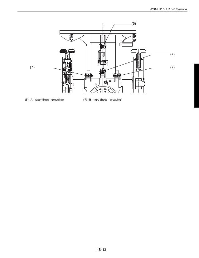 KUBOTA U15-3 MICRO EXCAVATOR Service Repair Manual