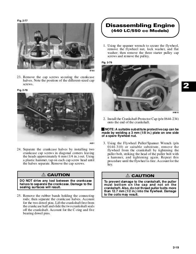 2000 Arctic Cat ZL 440 Service Repair Manual